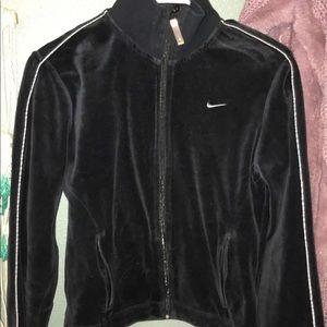 Nike velvet jacket